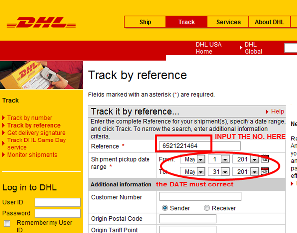 dhl ups tracking way taobaospree your shipping agent in china. Black Bedroom Furniture Sets. Home Design Ideas